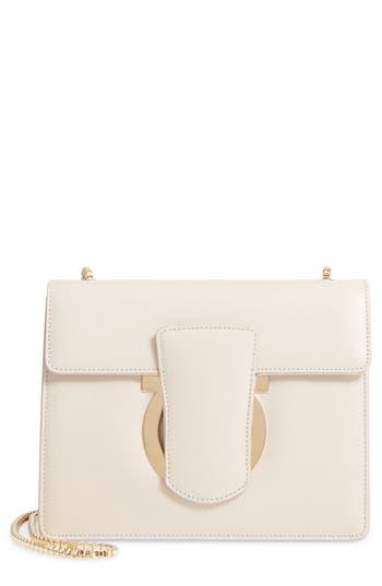 Salvatore Ferragamo Small Leather Crossbody Bag -