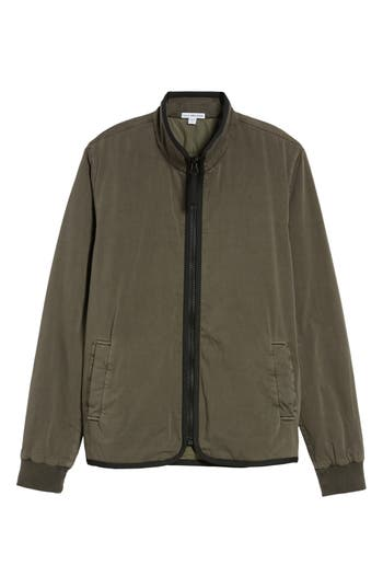 Men's James Perse Zip Front Twill Jacket