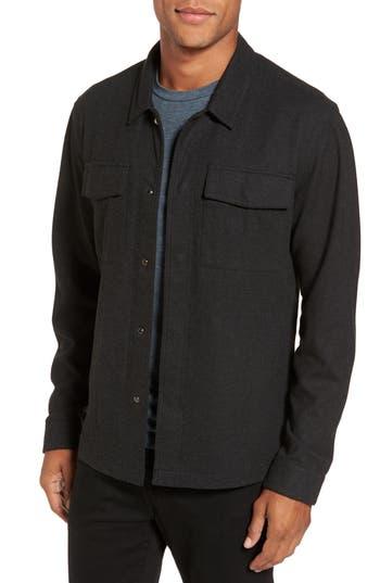Men's Twentymetrictons Peached Knit Shirt Jacket