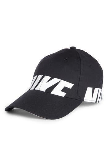 2ebf0ce2f1d Nike Sportswear H86 Cap - Black In Black  White