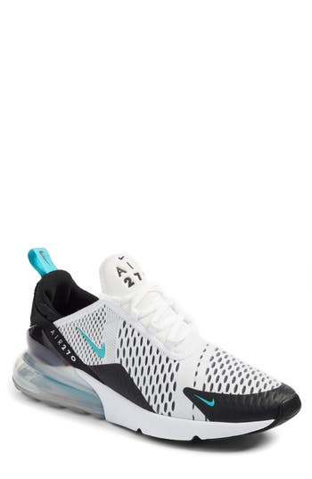 uk availability 0f8a3 824b3 Men'S Air Max 270 Casual Shoes, White in Black/ White/ Dusty Cactus