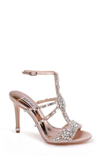 Women's Badgley Mischka Hughes Crystal Embellished Sandal