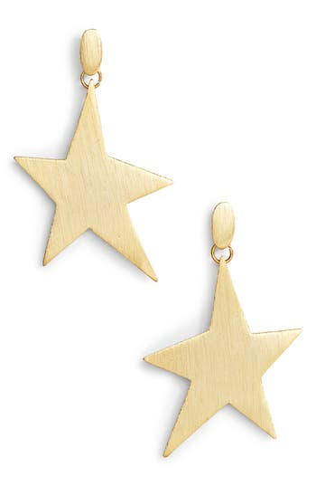 Rebecca Minkoff  STAR GIRL DRAMA DROP EARRINGS