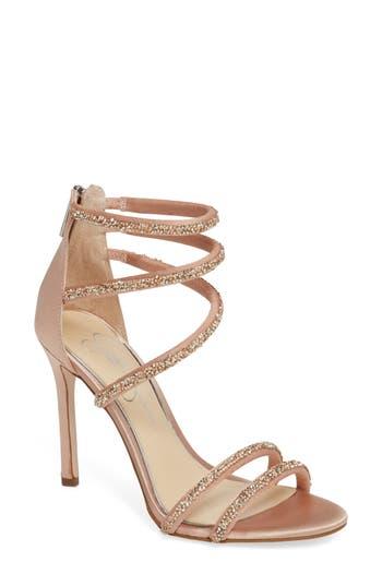 Jessica Simpson Jamalee Glitter Sandal, Pink