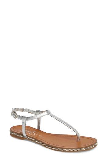 Jessica Simpson Brimah Sandal- Metallic