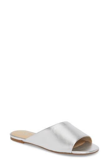 Botkier Magda Slide Sandal- Metallic