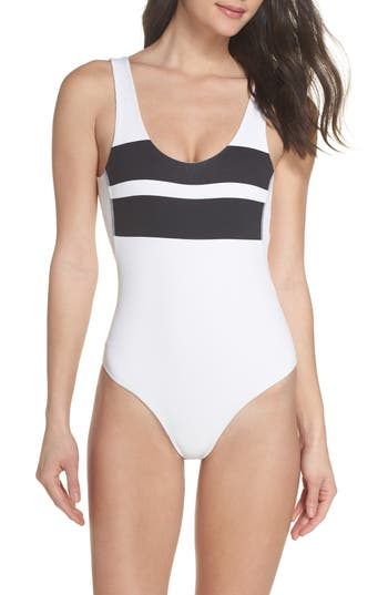 Hurley QUICK DRY BLOCK PARTY ONE-PIECE SWIMSUIT