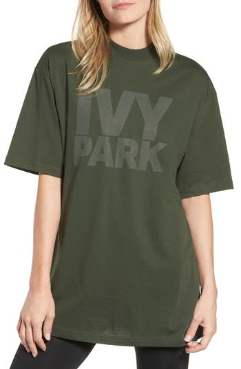 Ivy Park DOTTED LOGO OVERSIZED TEE