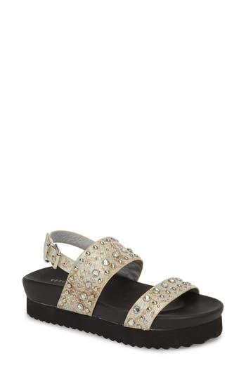 Very Volatile Milan Platform Sandal, Metallic