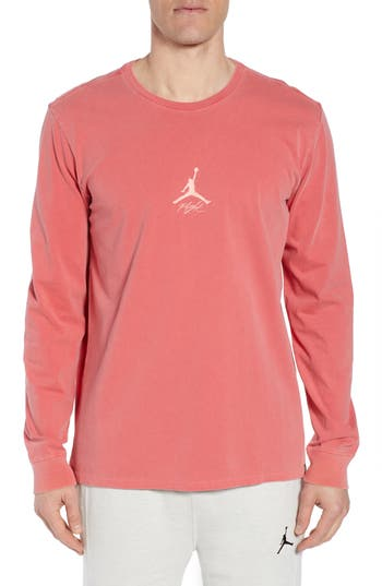 Jordan Wings Long Sleeve T-Shirt, Red
