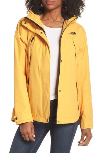 The North Face Ditmas Rain Jacket, Yellow
