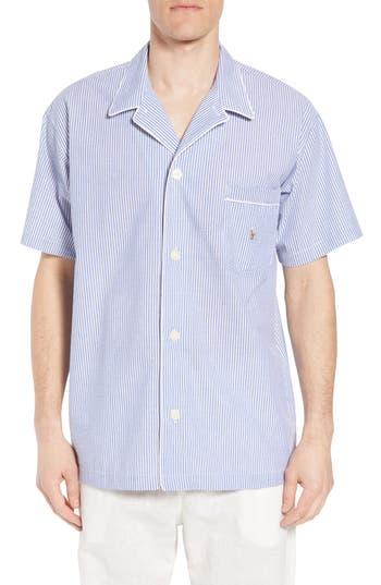 Polo Ralph Lauren Seersucker Pajama Shirt, Blue