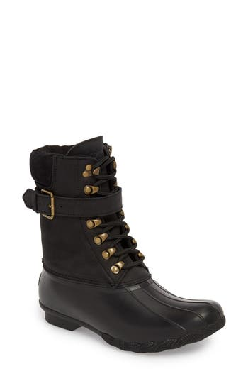 Sperry Shearwater Water-Resistant Boot, Black