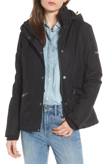 Barbour San Carlos Waterproof Jacket, US / 12 UK - Black