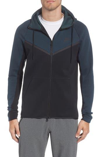 Nike Tech Fleece Hooded Jacket, Green