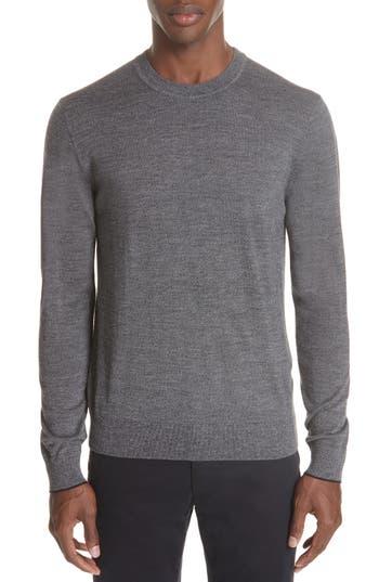 Ps Paul Smith Merino Wool Sweater, Grey
