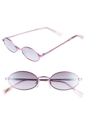 Le Specs Love Train 51Mm Oval Sunglasses - Bubbleberry
