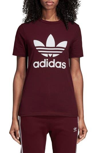 Adidas Trefoil Tee, Red