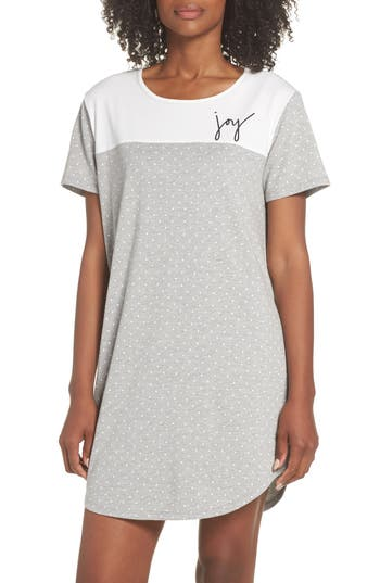 Ed Ellen Degeneres Sleep Tee, Grey