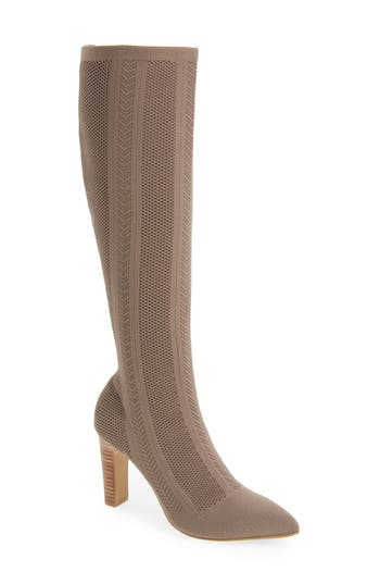 Charles By Charles David Davis Knit Boot, Grey