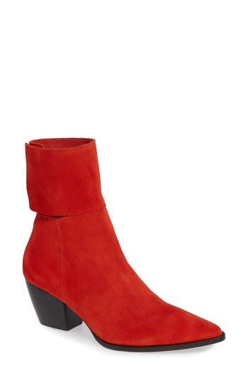 Matisse Good Company Ankle Cuff Bootie, Red