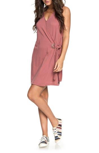Roxy Rhythm Of Luck Cotton Shift Dress, Pink