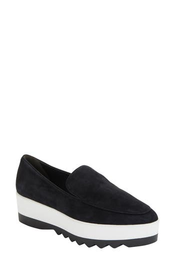 Donna Karan Platform Loafer, Black