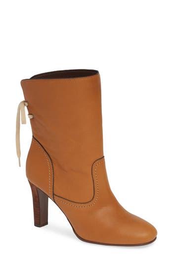 See By Chloe Lara Split Shaft Western Boot, Brown