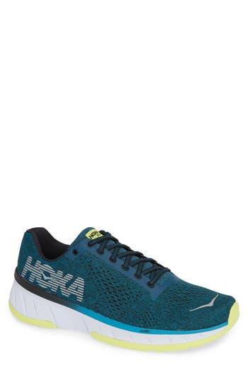 Hoka One One Cavu Running Shoe- Blue