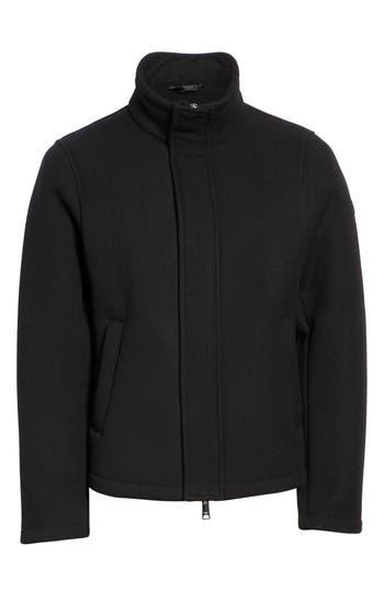 Emporio Armani Broadcloth Down Jacket, US / 4 R - Black