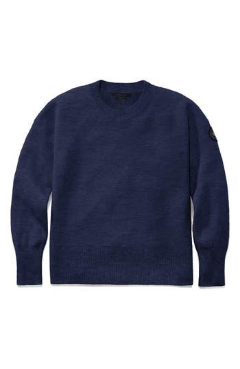Canada Goose Aleza Merino Wool Sweater, (0) - Blue
