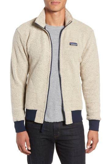 Patagonia Woolyester Fleece Jacket, Beige