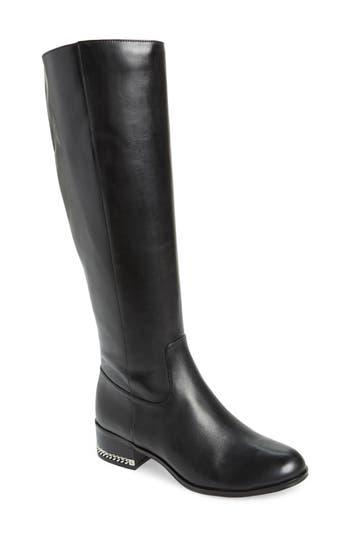 Michael Michael Kors Walker Knee High Boot- Black