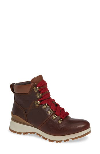 Bionica Dalton Lace-Up Boot, Brown