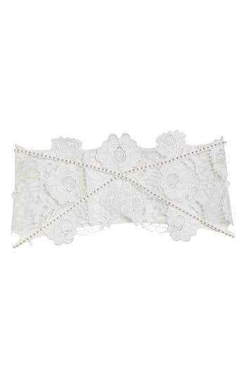 Ann Summers Tamara White Corset Belt, Ivory