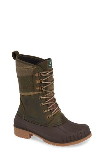 Kamik Sienna 2 Duck Boot, Green