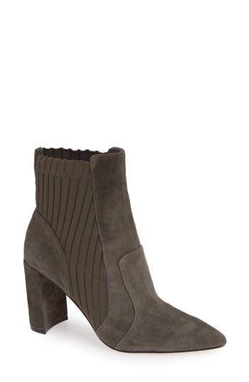Sole Society Salmay Sock Bootie, Grey