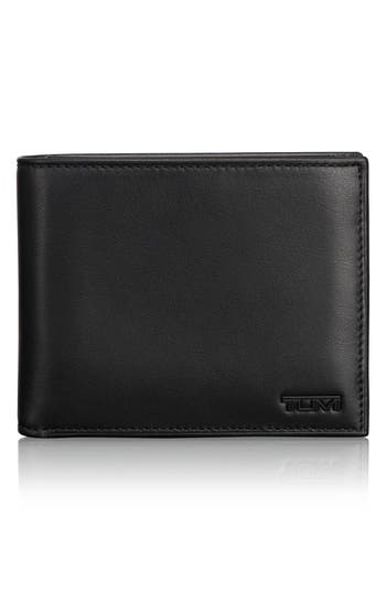 Tumi 'Delta Global - Id Lock(TM)' Shielded Removable Passcase Id Wallet - Black