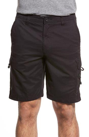 Quiksilver Waterman Collection Maldive Cargo Shorts, Black