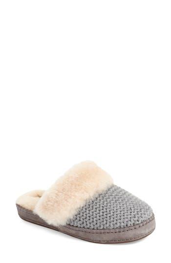 Ugg Aira Knit Scuff Slipper, Grey