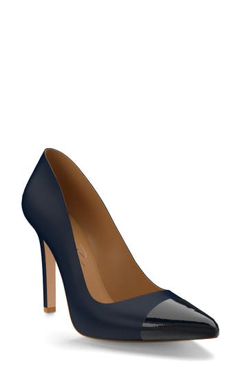 Women's Shoes Of Prey Cap Toe Pump, Size 12.5 B - Blue