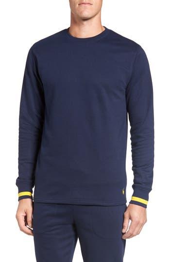 Men's Polo Ralph Lauren Brushed Jersey Cotton Blend Crewneck Sweatshirt