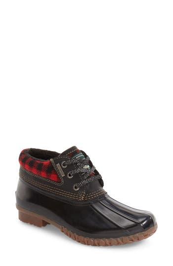 Women's G.h. Bass & Co. Dorothy Waterproof Duck Boot, Size 6 M - Black
