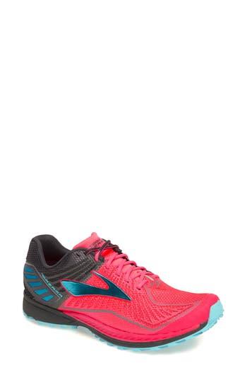 d8df6ad0fa6 Brooks Mazama Trail Running Shoe In Diva Pink  Anthracite