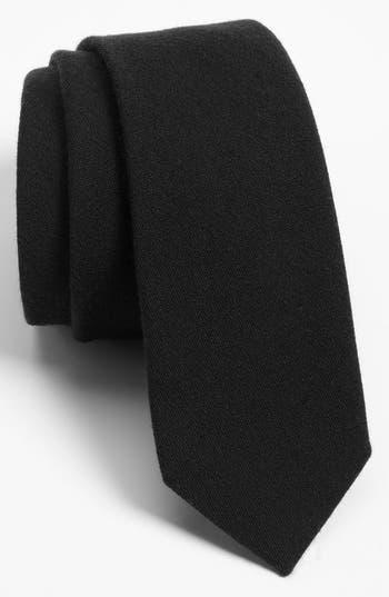 1960s – 70s Men's Ties   Skinny Ties, Slim Ties Mens The Tie Bar Solid Wool Blend Skinny Tie Size Regular - Blue $19.00 AT vintagedancer.com