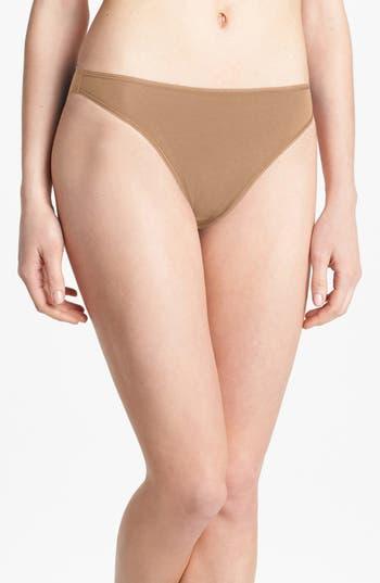 Women's Felina 'Sublime' High Cut Briefs, Size Small - Beige