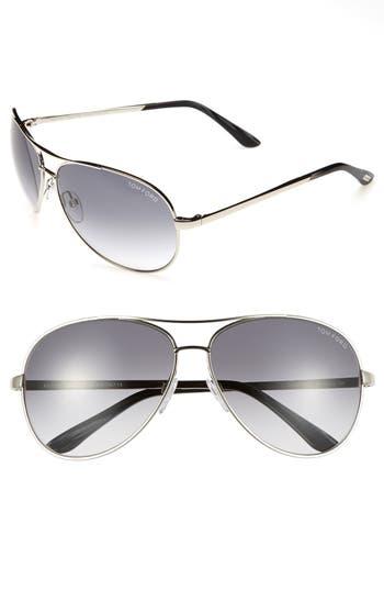 Men's Tom Ford 'Charles' 62Mm Aviator Sunglasses -