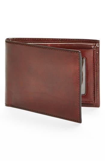 Bosca Id Passcase Wallet - Brown
