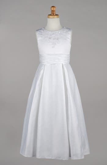 Girl's Lauren Marie Beaded First Communion Dress