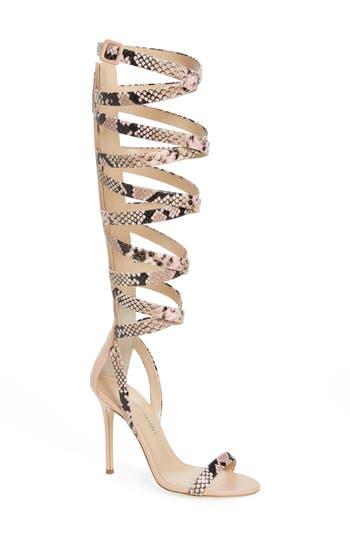 Women's Giuseppe For Jennifer Lopez Emme Knee-High Gladiator Sandal